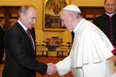 Володимир Путін і Папа Римський