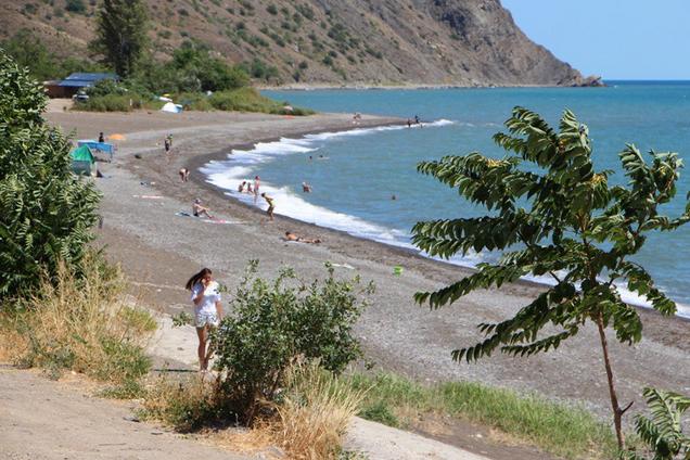 Ілюстрація. Пляжі Криму