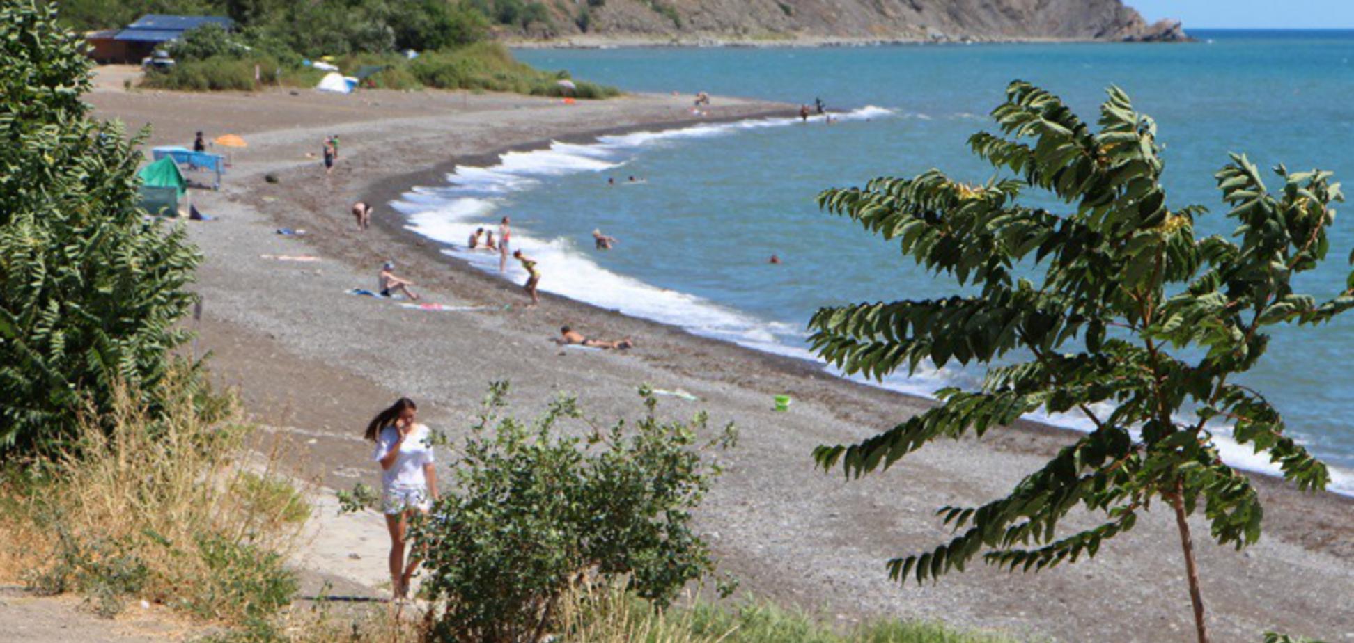 пляжі Криму