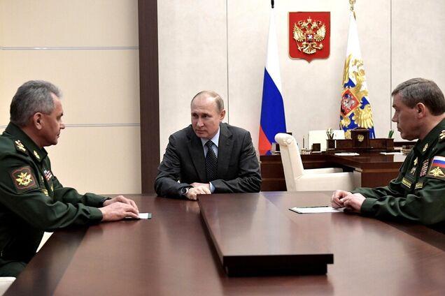 Владимир Путин, Сергей Шойгу, Валерий Герасимов