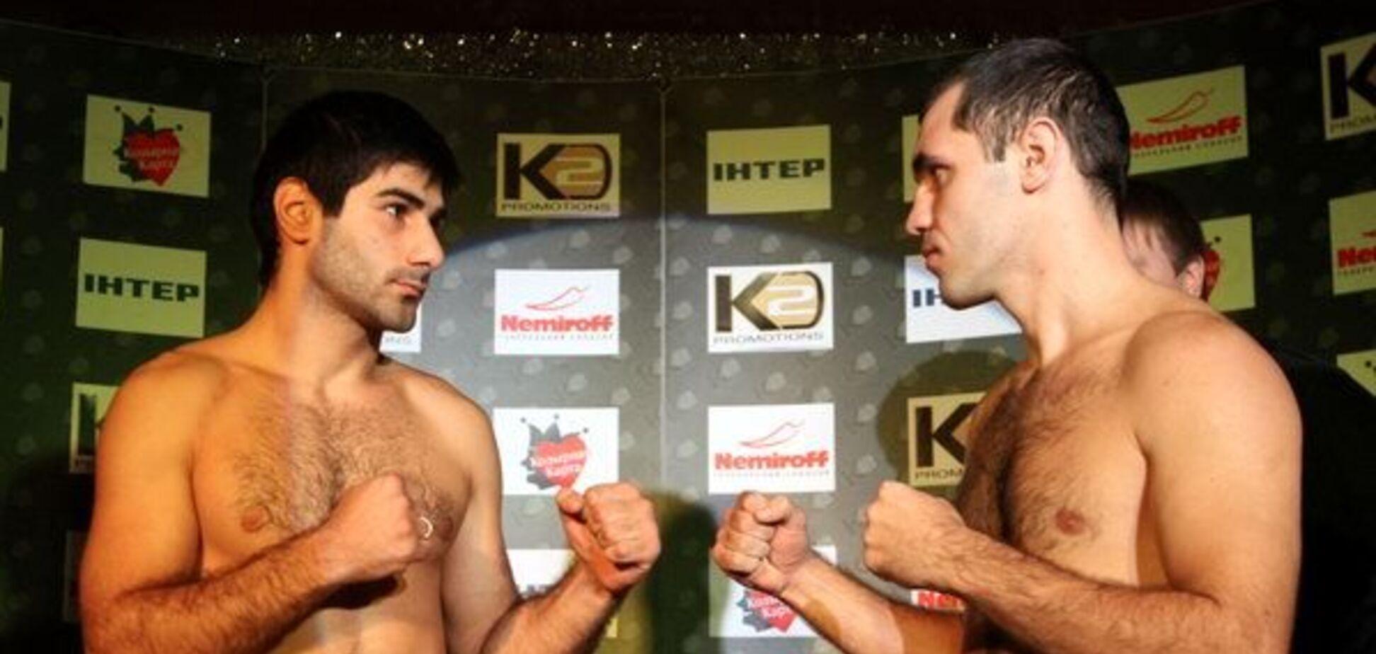 Украинский боксер отметился неожиданной выходкой на дуэли взглядов: опубликовано видео