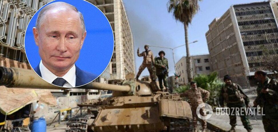 Россия вмешалась в выборы Ливии
