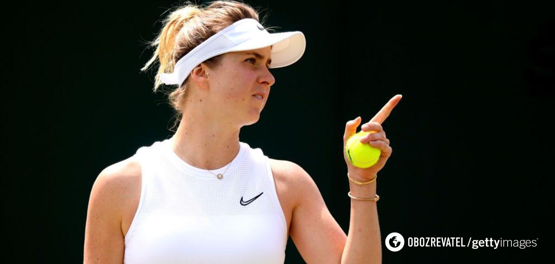 Свитолина потерпела фиаско в полуфинале Wimbledon