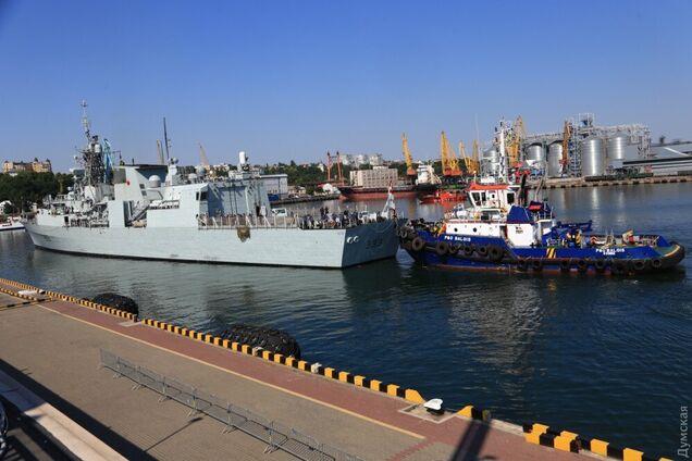 Корабли НАТО в Одессе