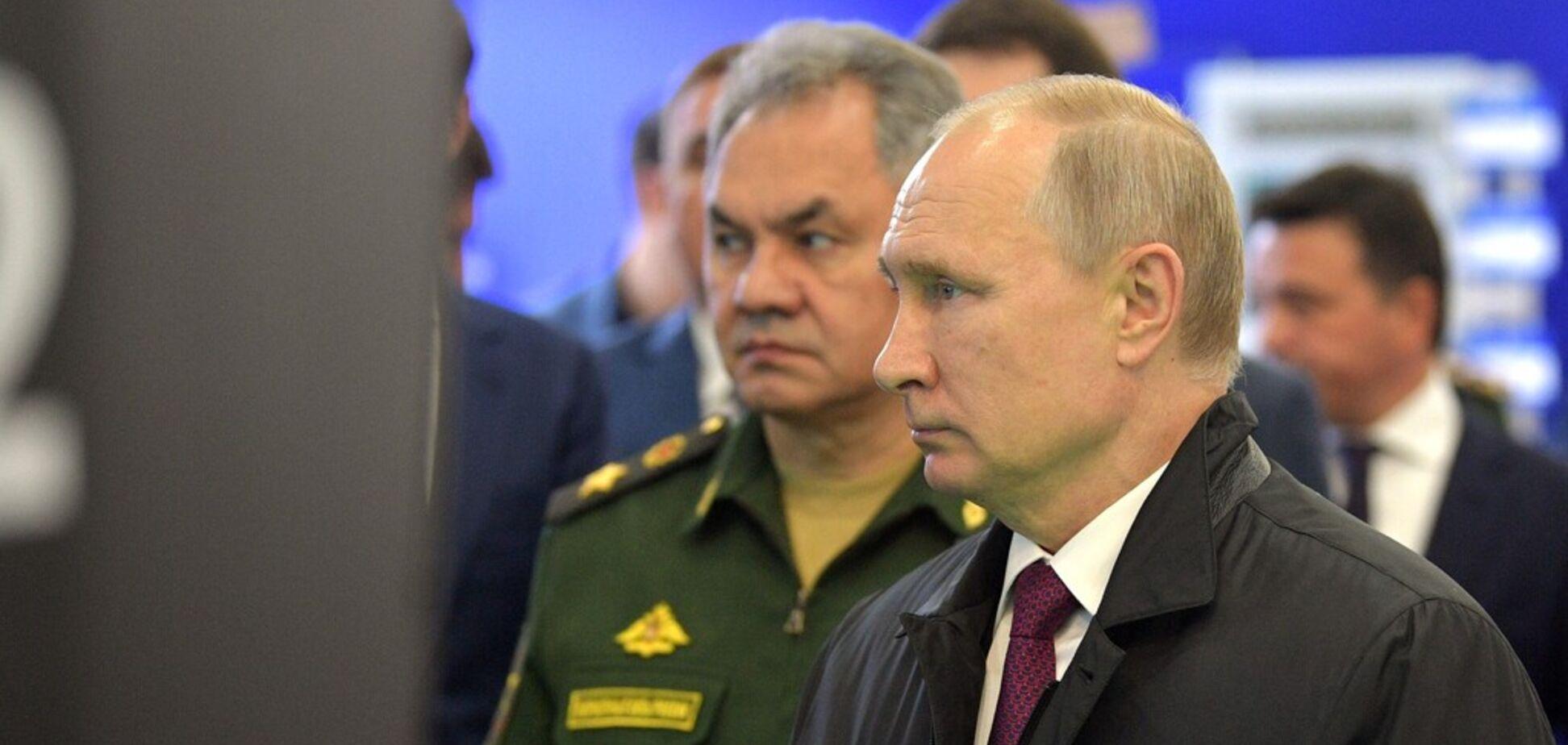 Путин наращивает силы: привет молодому зеленому президенту