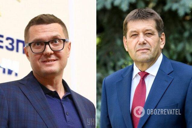 И.о. главы СБУ Иван Баканов и Владимир Кистион