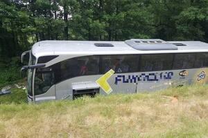 В Польше перевернулся автобус с украинцами: много раненых. Видео