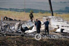 Boeing 777 рейса МН17 на Донбассе