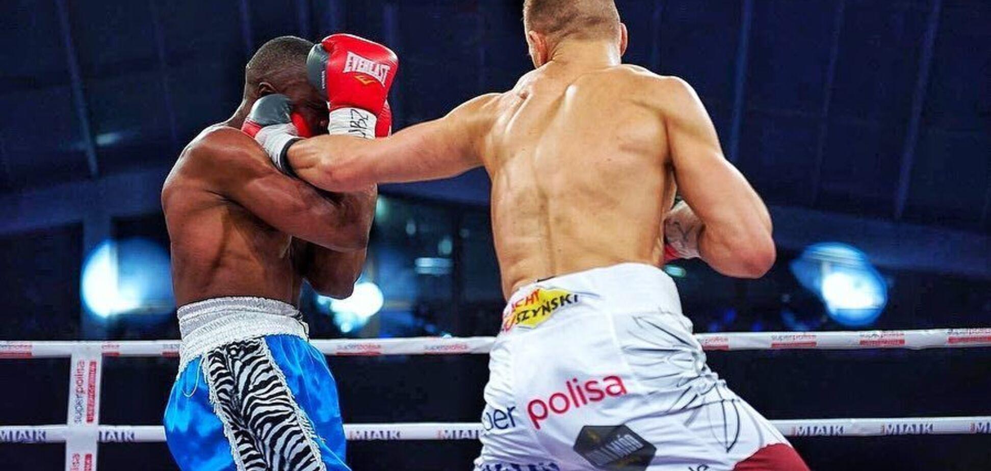 Непереможний боксер з Харкова здобув ефектну перемогу в Польщі