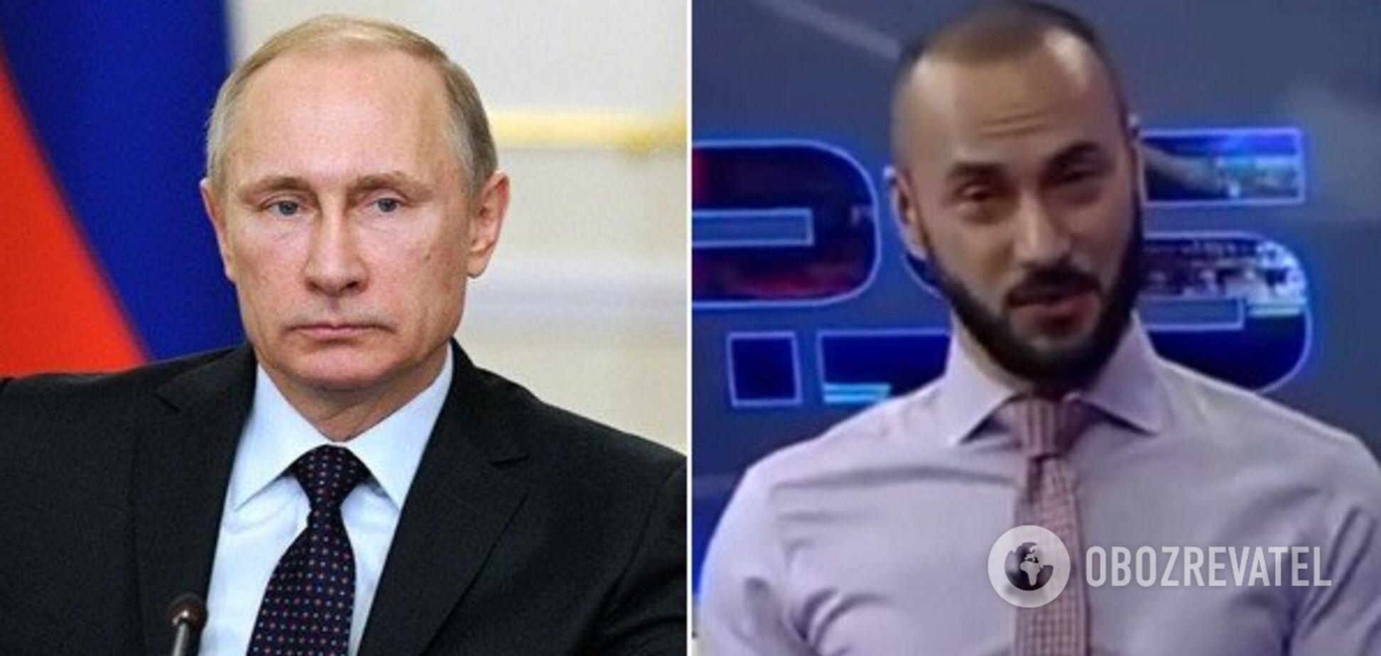 На журналиста Габунию, который нецензурно обругал Путина, планировали покушение: Украина помогла избежать преступления