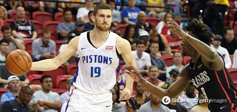 Украинец Михайлюк стал лучшим в матче Летней лиги НБА
