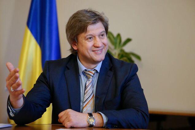Данилюк заявив, що його заробітна плата складає близько 50 тисяч гривень