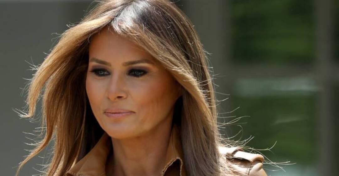 """Результат пошуку зображень за запитом """"Забула про білизну: Меланія Трамп блиснула грудьми на військовому параді"""""""