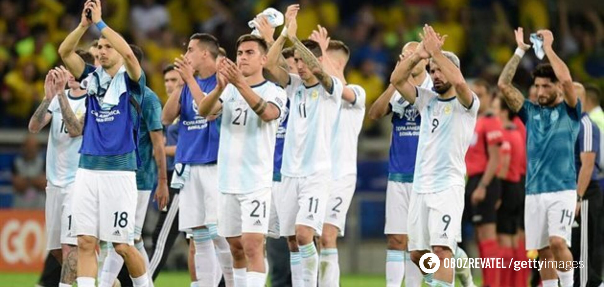 Аргентина устроила демарш и попросилась в УЕФА