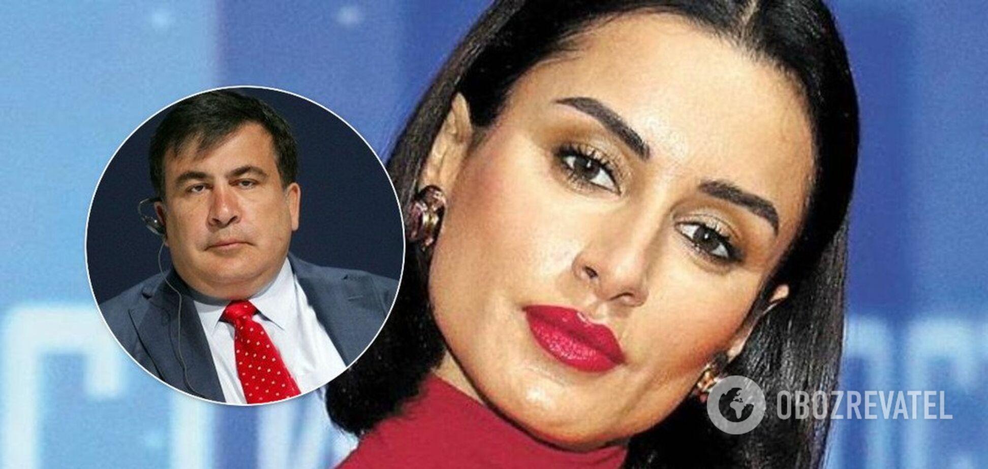 Канделаки набросилась на Саакашвили из-за скандала в Грузии