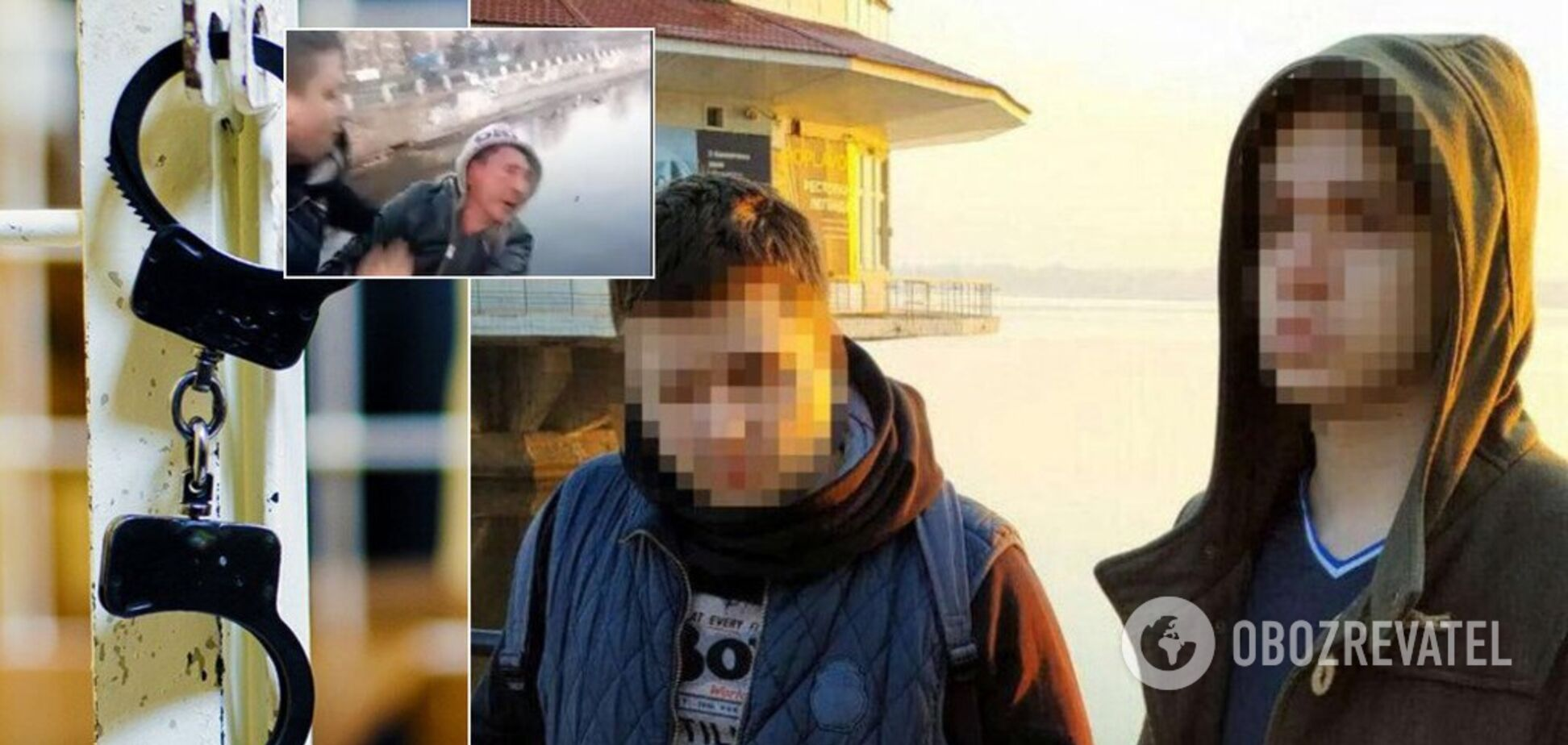 Суд отпустил парней, которые убили мужчину ради видео в Днепре