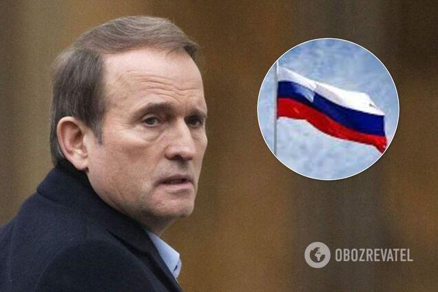 Медведчука обвинили в поставках топлива для Черноморского флота России