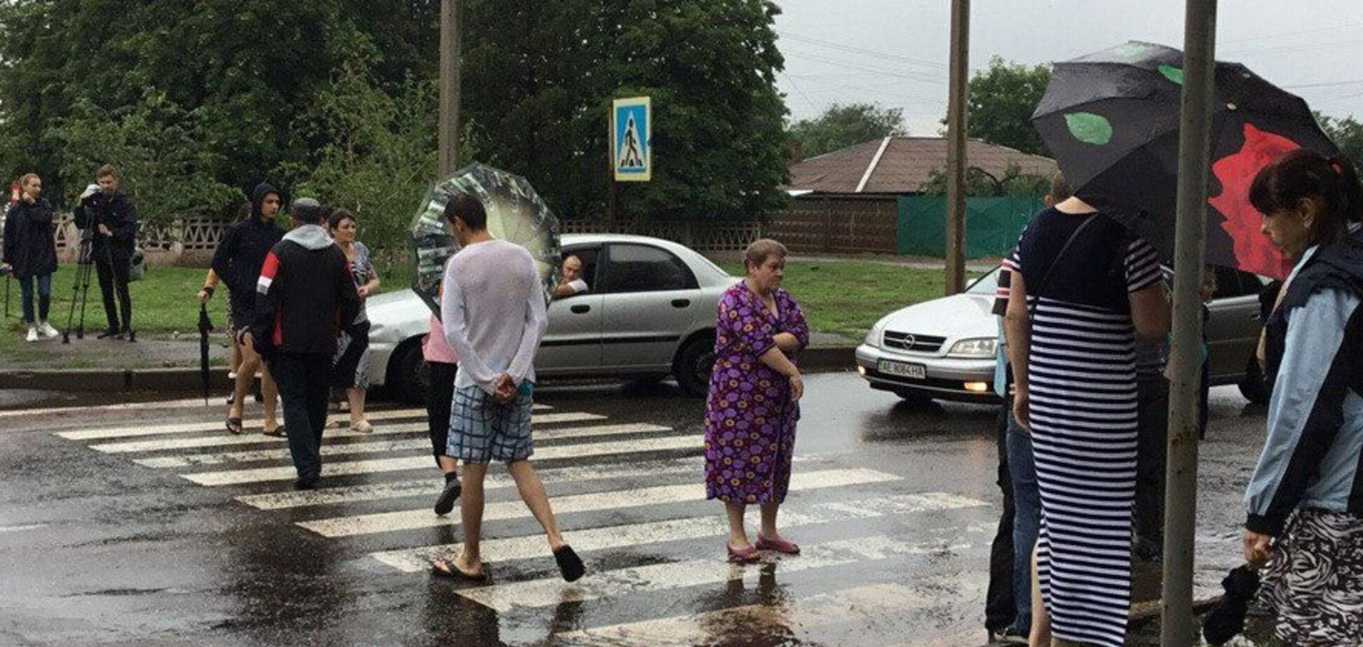 Да будет свет! На Днепропетровщине перекрыли дорогу с требованием восстановить электричество