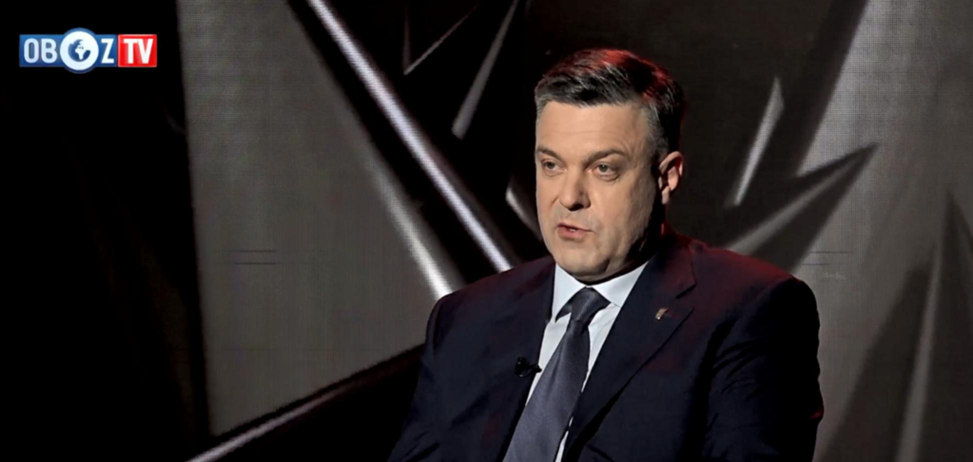 Программа ''Острый вопрос''. Сороковой гость — Олег Тягнибок ч.1