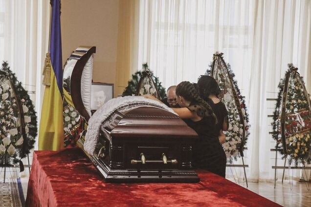 Похороны Дмитрия Тымчука