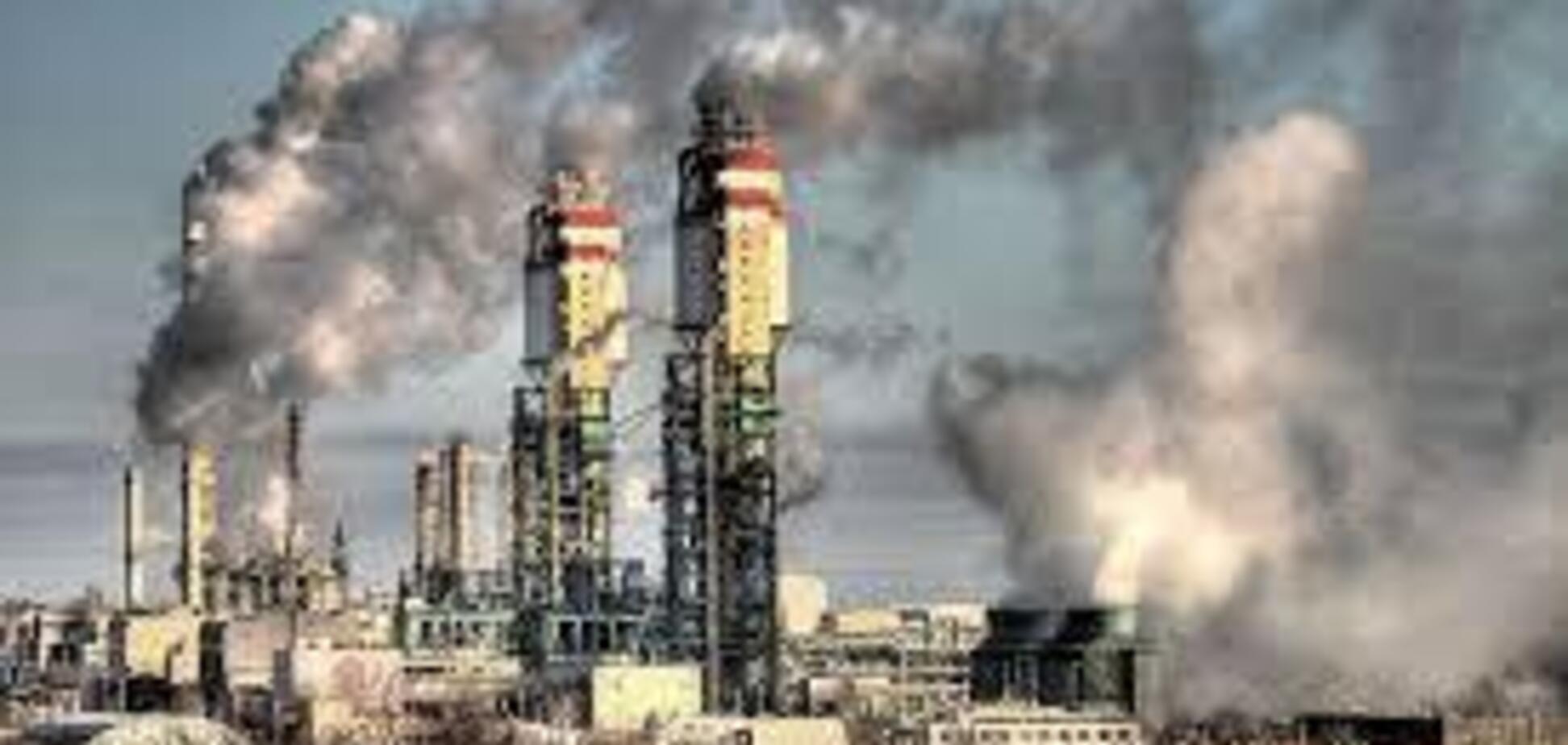 Держава може допомогти промисловцям боротися з промисловими забрудненнями