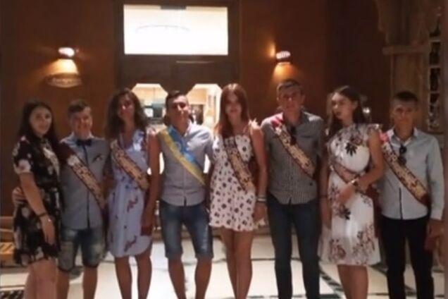 Волынские школьники отпраздновали выпускной за рубежом