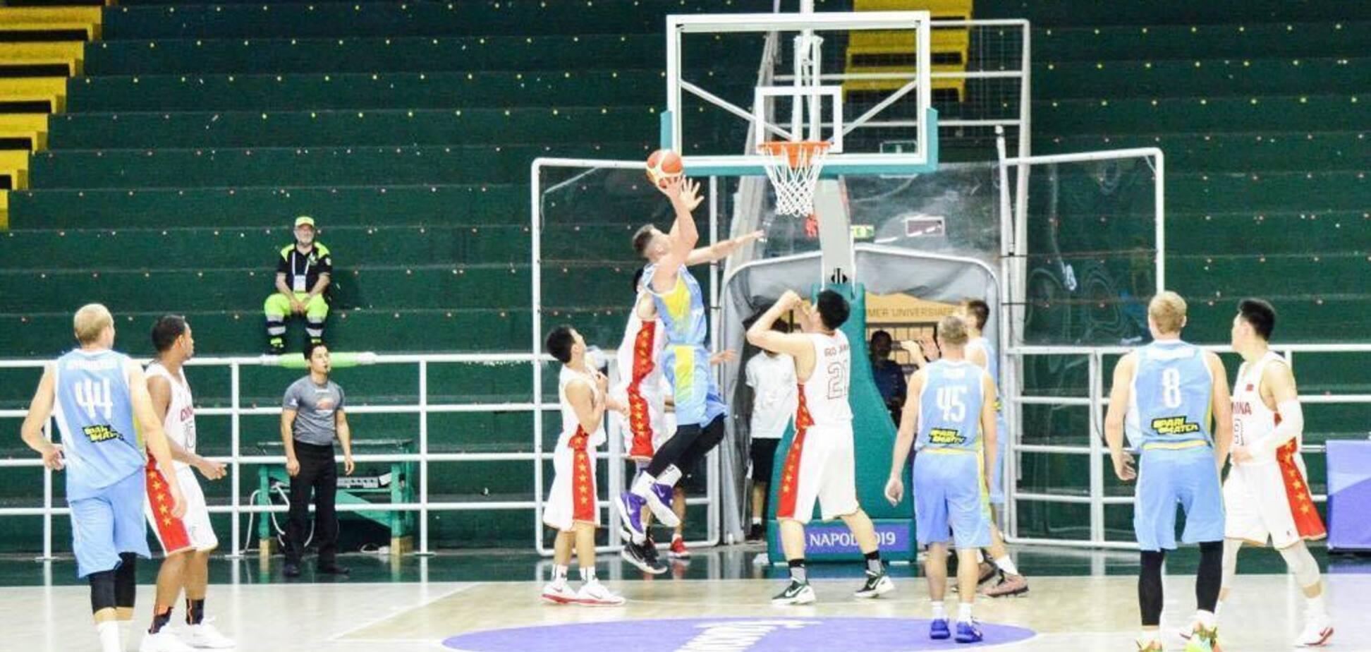 Українські баскетболісти вийшли у півфінал Універсіади