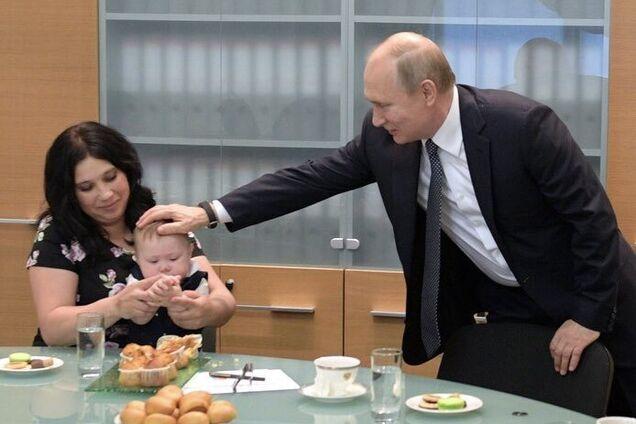 Путін торкався нового хлопчика