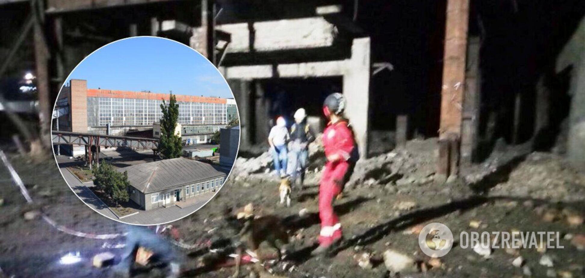 Под Днепром обвалившееся здание убило мужчину: фото с места ЧП