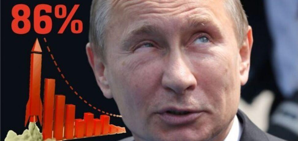 'Фріки та пенсіонери': російський музикант розповів про реальний рейтинг Путіна