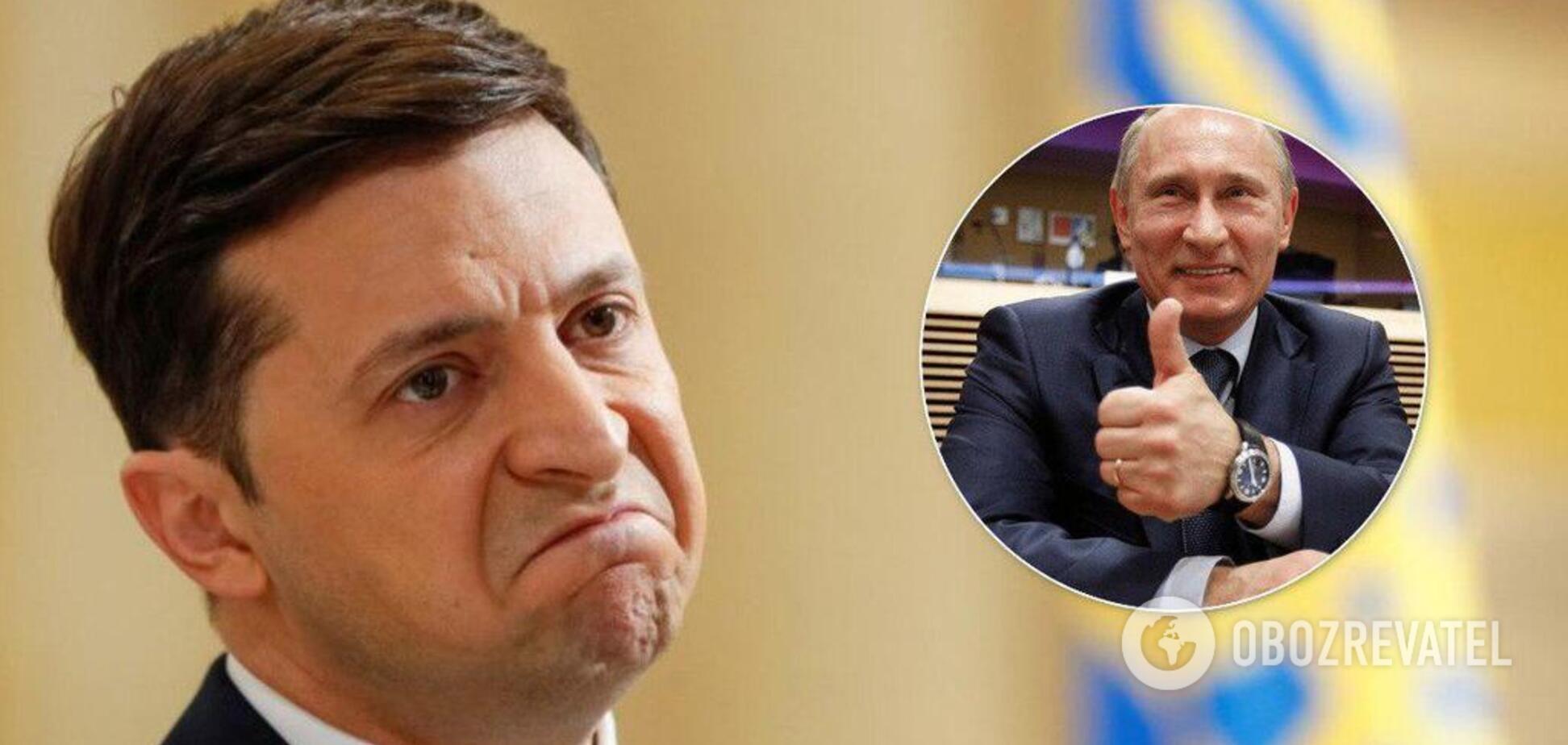 Переговори щодо Донбасу: в Росії розповіли про пастки Путіна для Зеленського