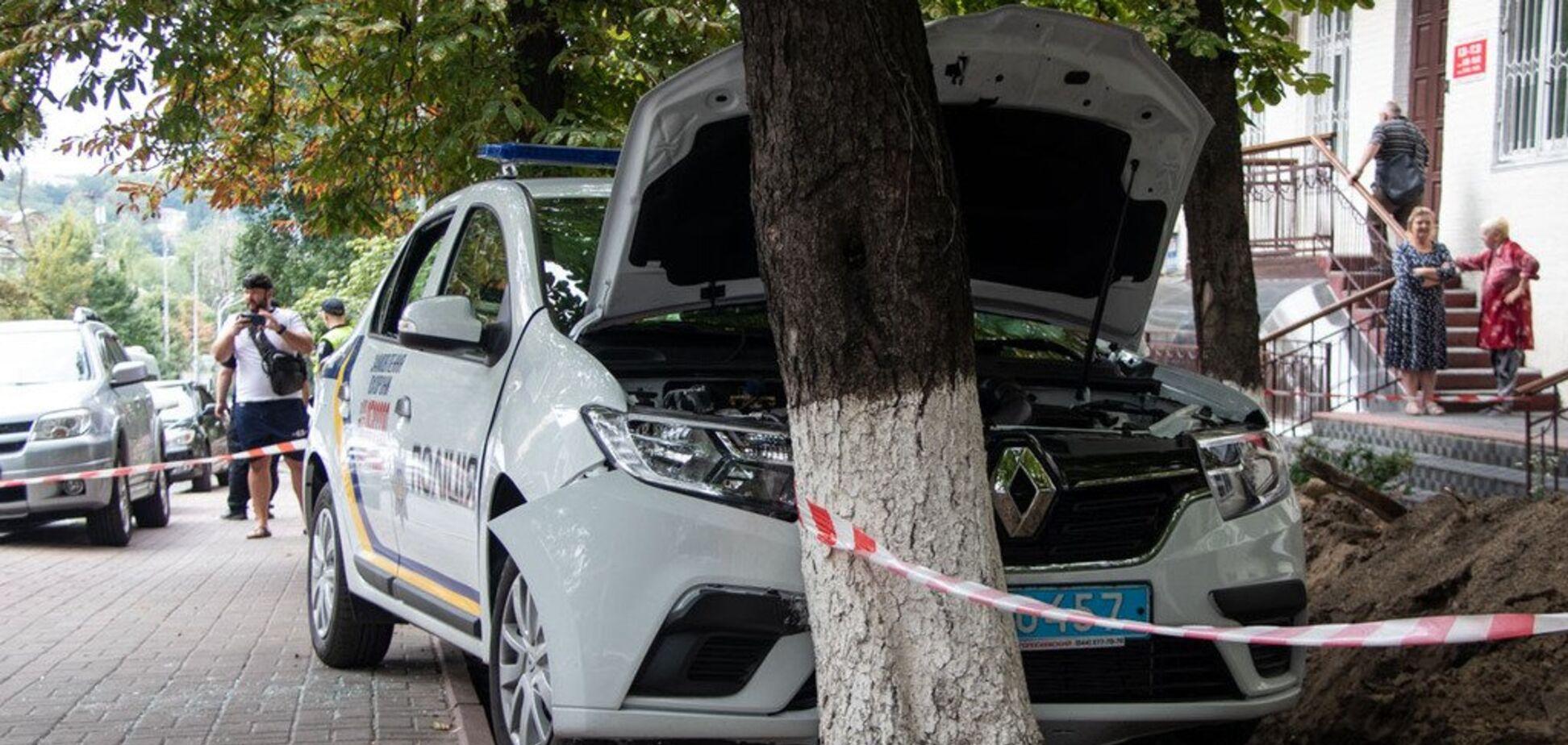 'Трясло від судом': у Києві співробітник поліції охорони потрапив у ДТП
