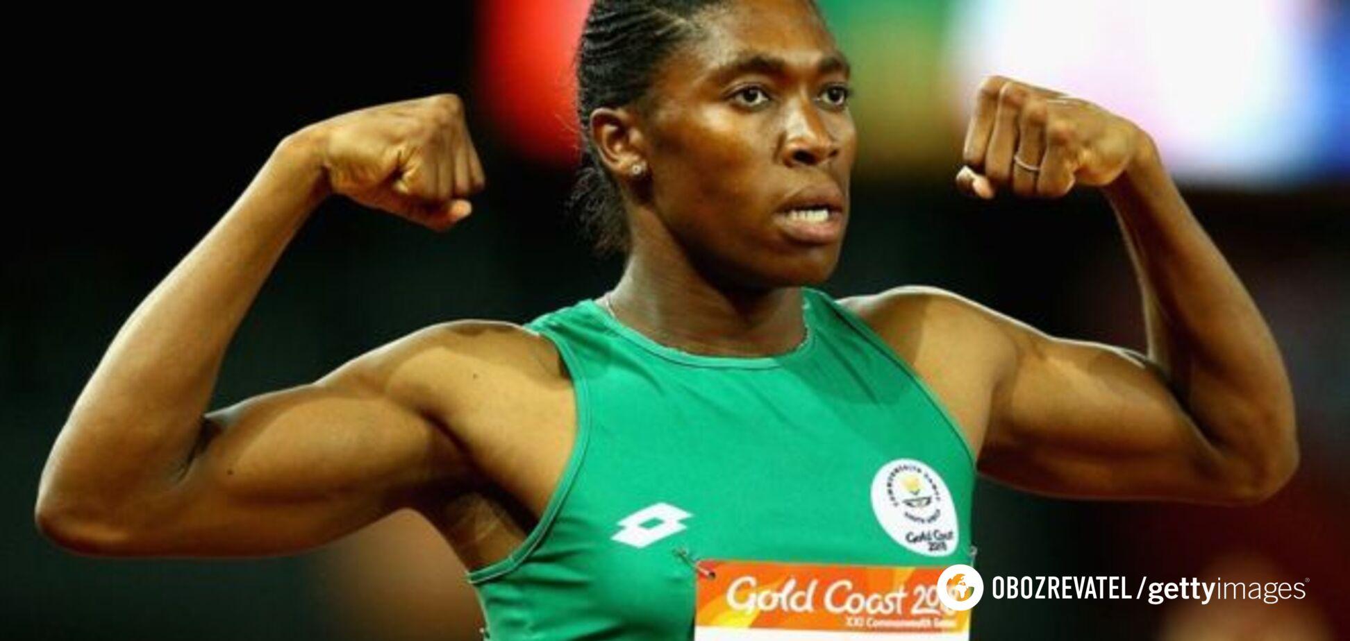 'С яичками': уникальную легкоатлетку Семеню не допустили к соревнованиям женщин
