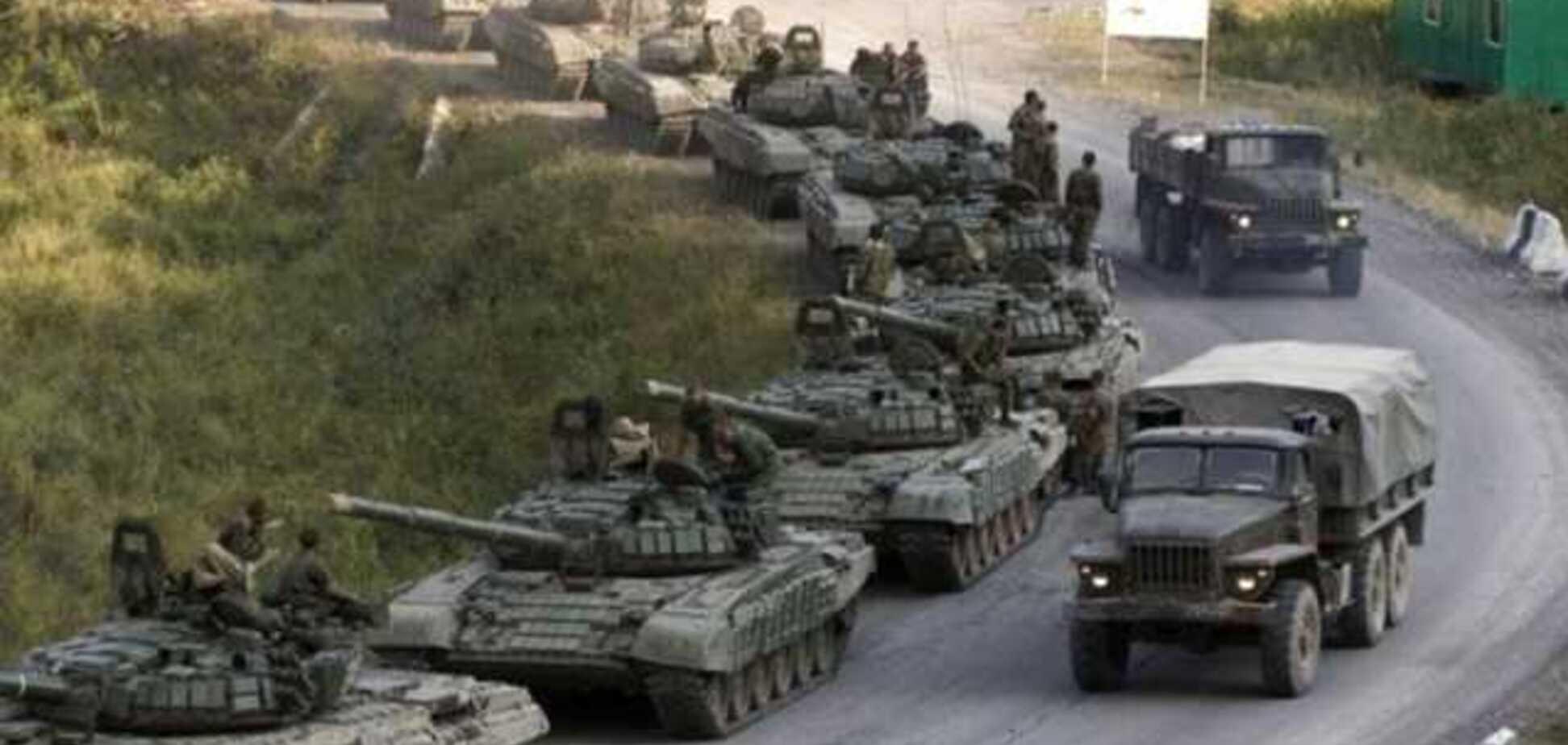 'Л/ДНР' стягують бронетехніку на передову