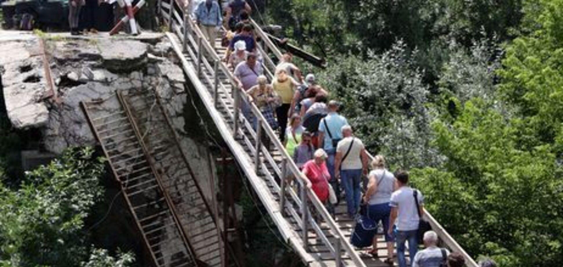 Міст біля Станиці Луганській