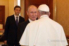 Папа Римський відшив Путіна: що трапилося