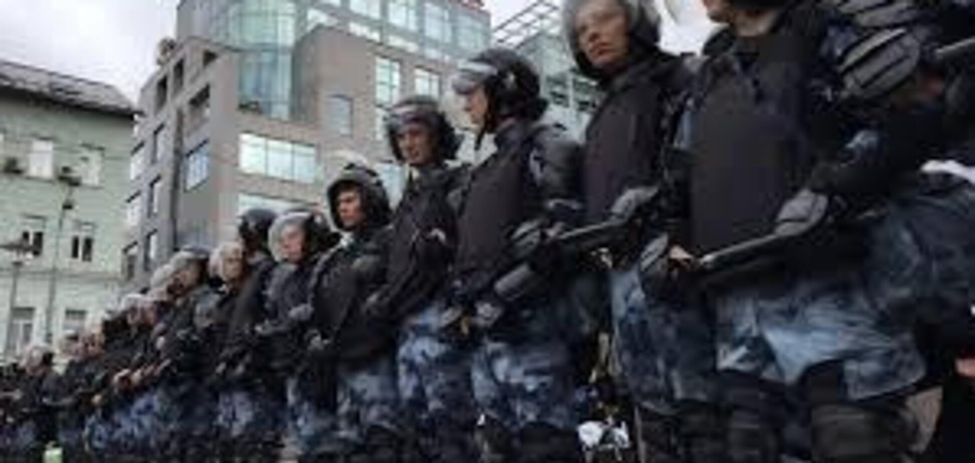 Мітинг в Москві: почалися перші затримання