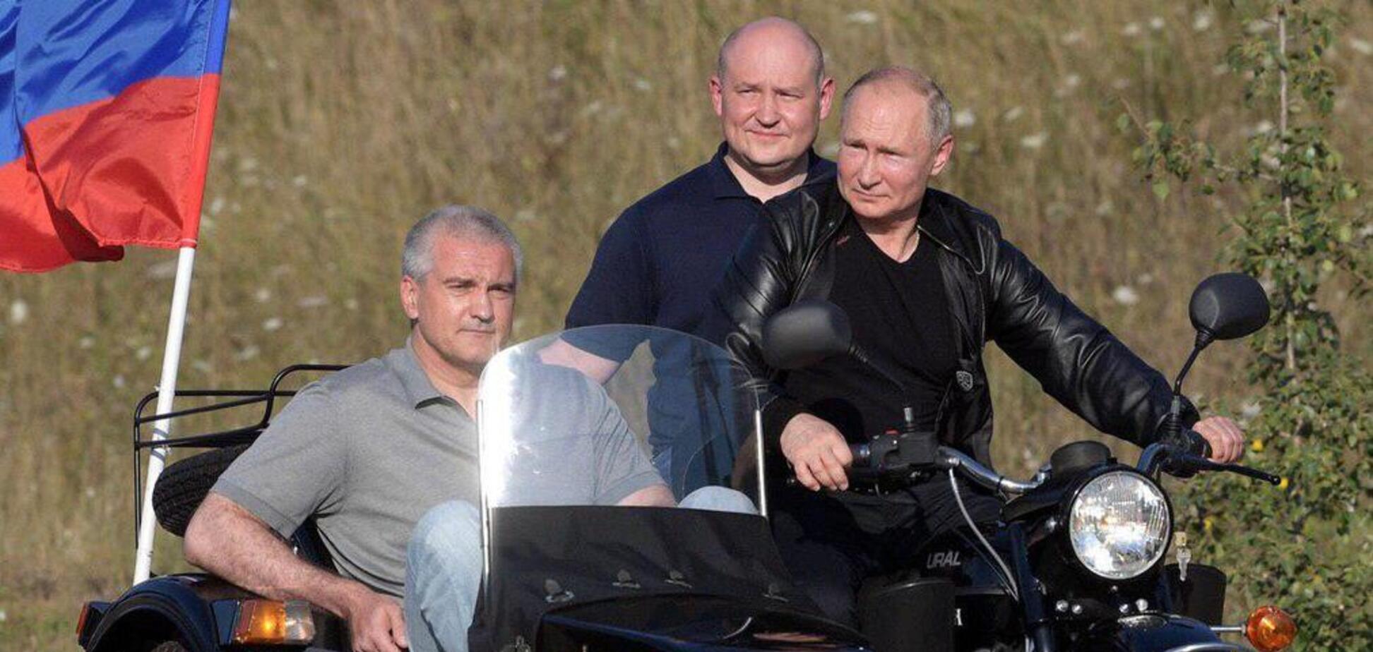 Путин в Крыму. Источник: Соцсети