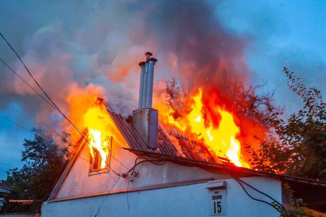 У Дніпрі сталася пожежа