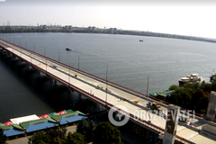 В Днепре полностью перекрыли Новый мост: что произошло