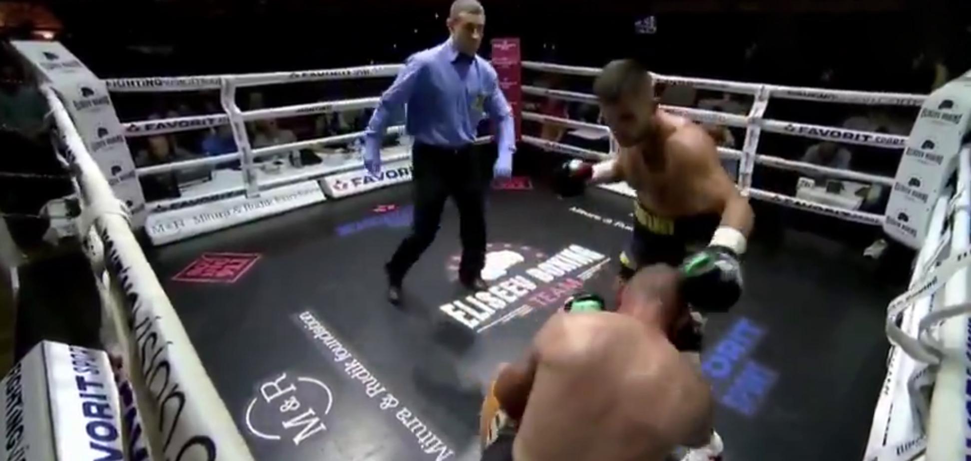 Непереможний український боксер виграв бій нокаутом