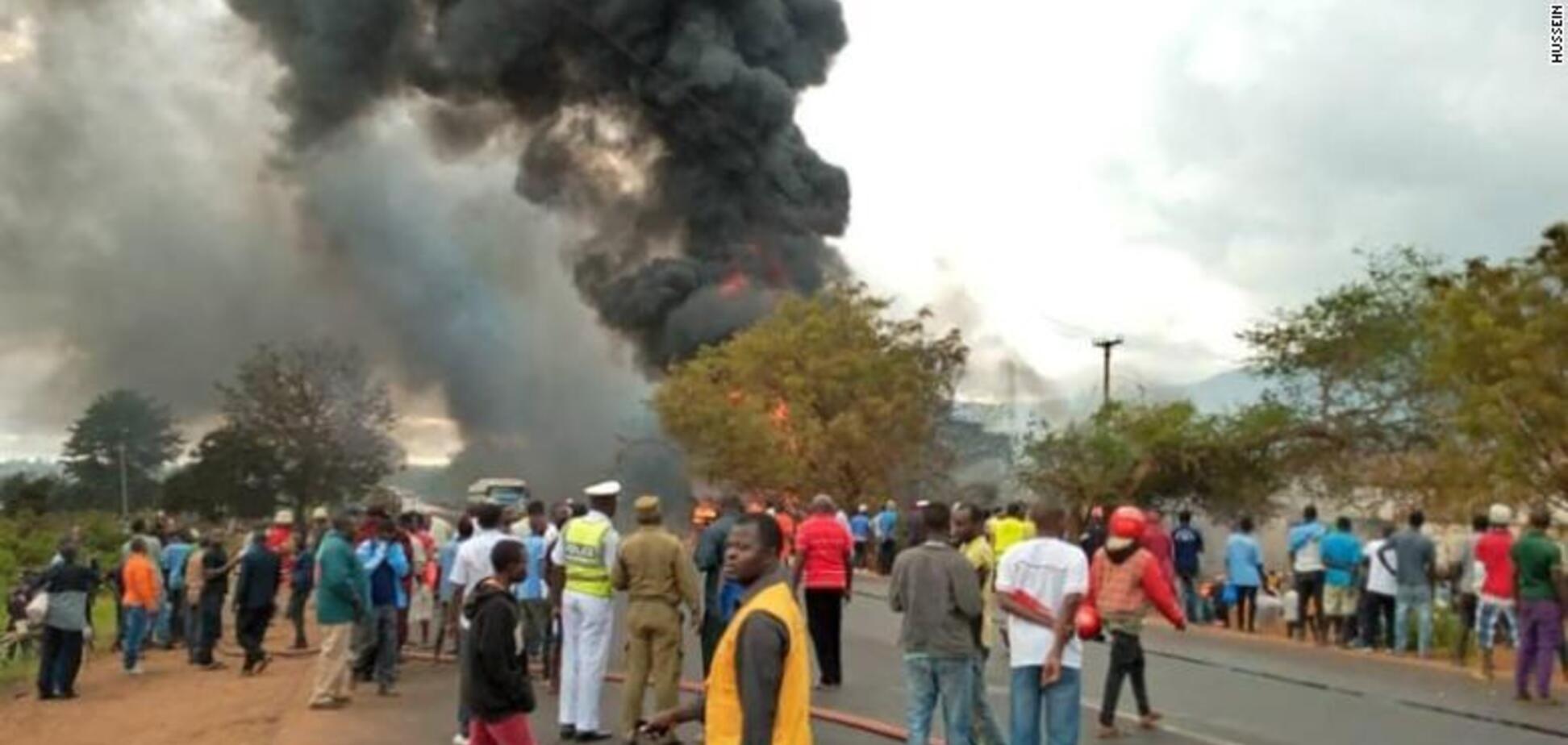 Вибух бензовозу в Танзанії