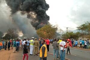 Взрыв бензовоза в Танзании