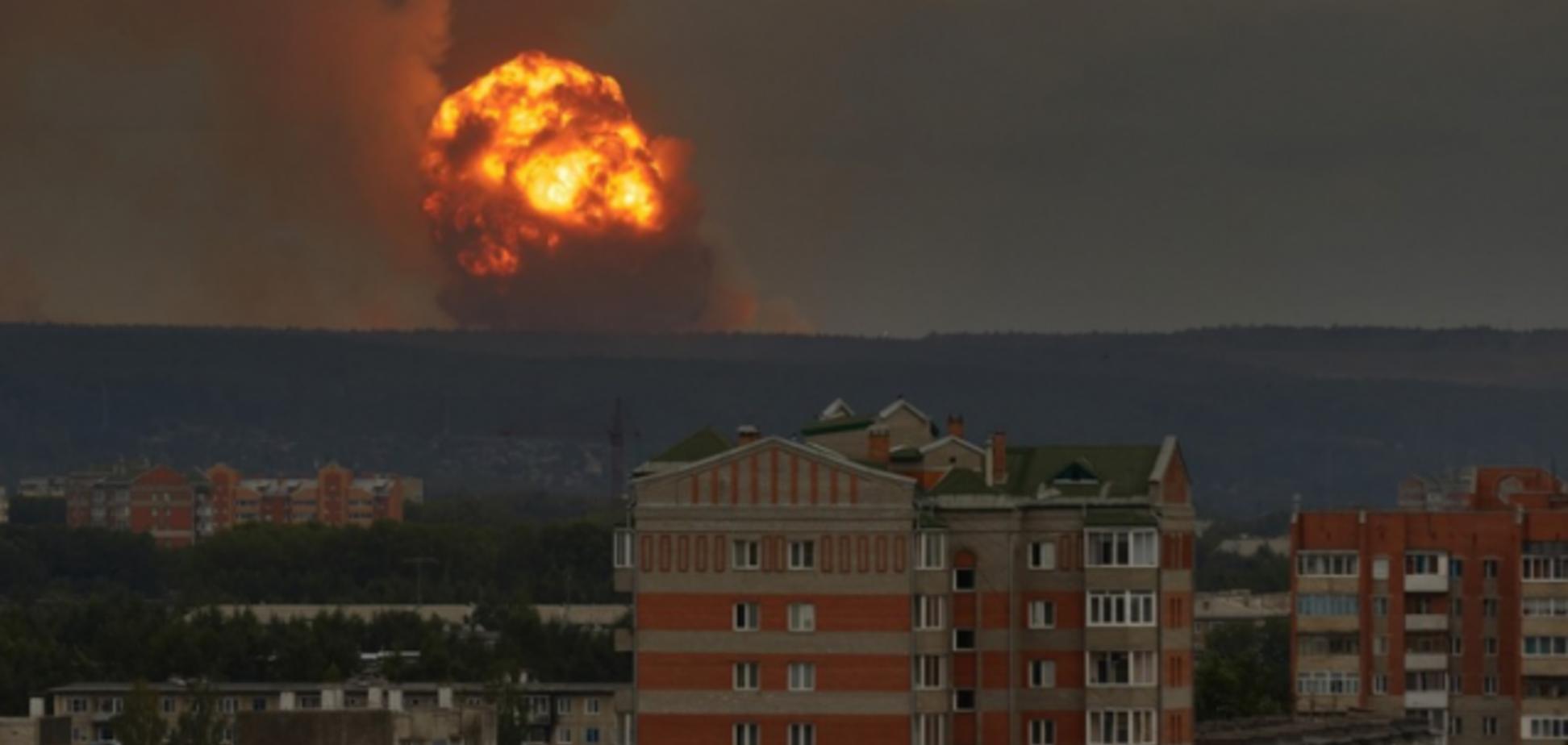 Взрывы в Ачинском районе