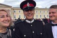 Украинский офицер произвел фурор в Британии: чем прославился