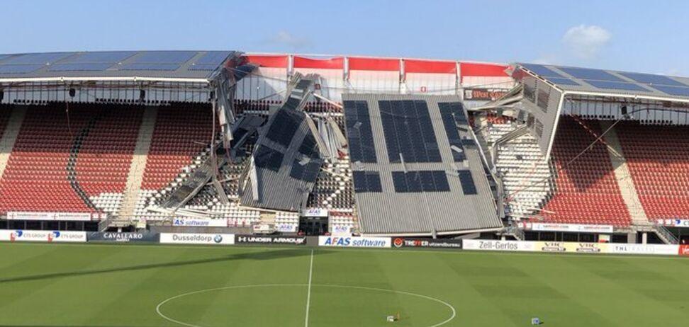Серьезные разрушения: украинскому клубу стало негде играть в Лиге Европы