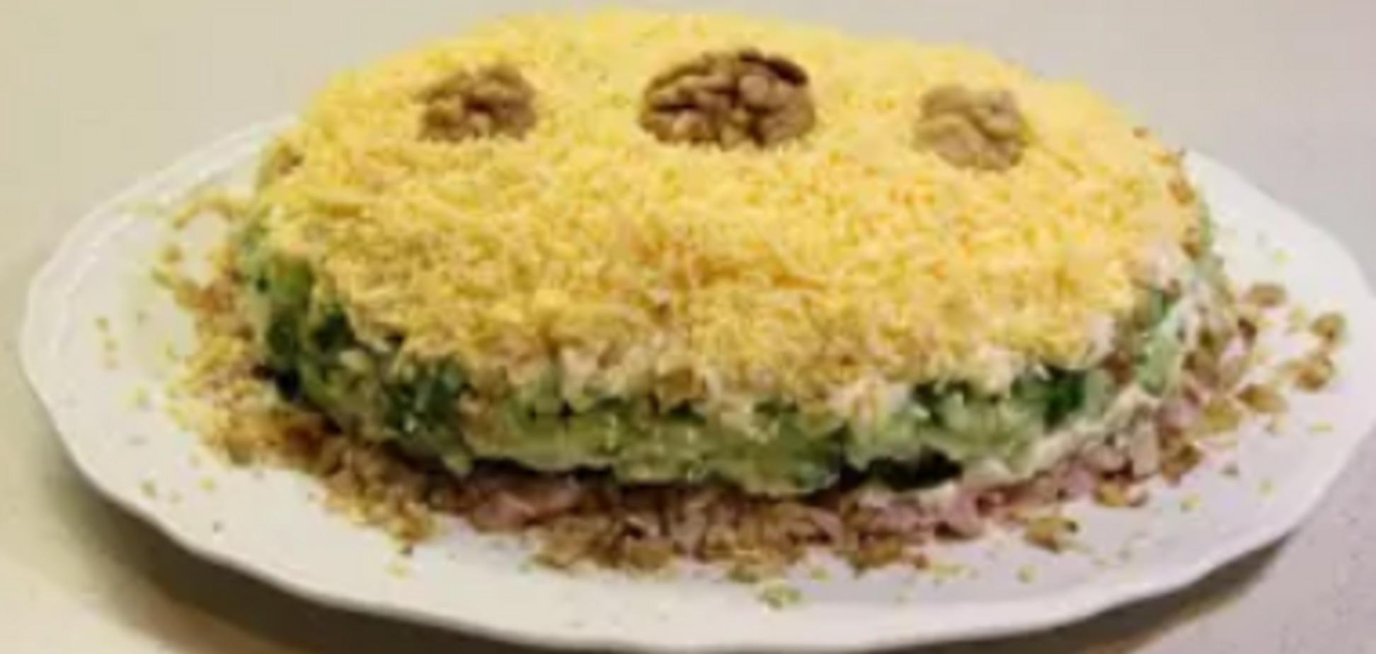 Рецепт смачного салату