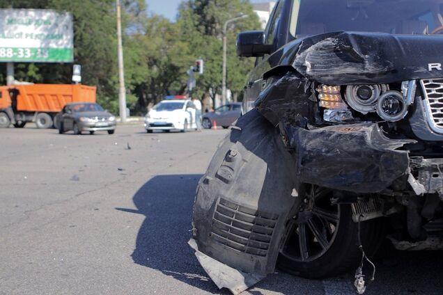 На перехресті Запорізького шосе і вулиці Шинної сталося ДТП