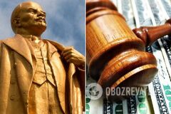 Гигантский Ленин спровоцировал скандал под Днепром: в чем суть