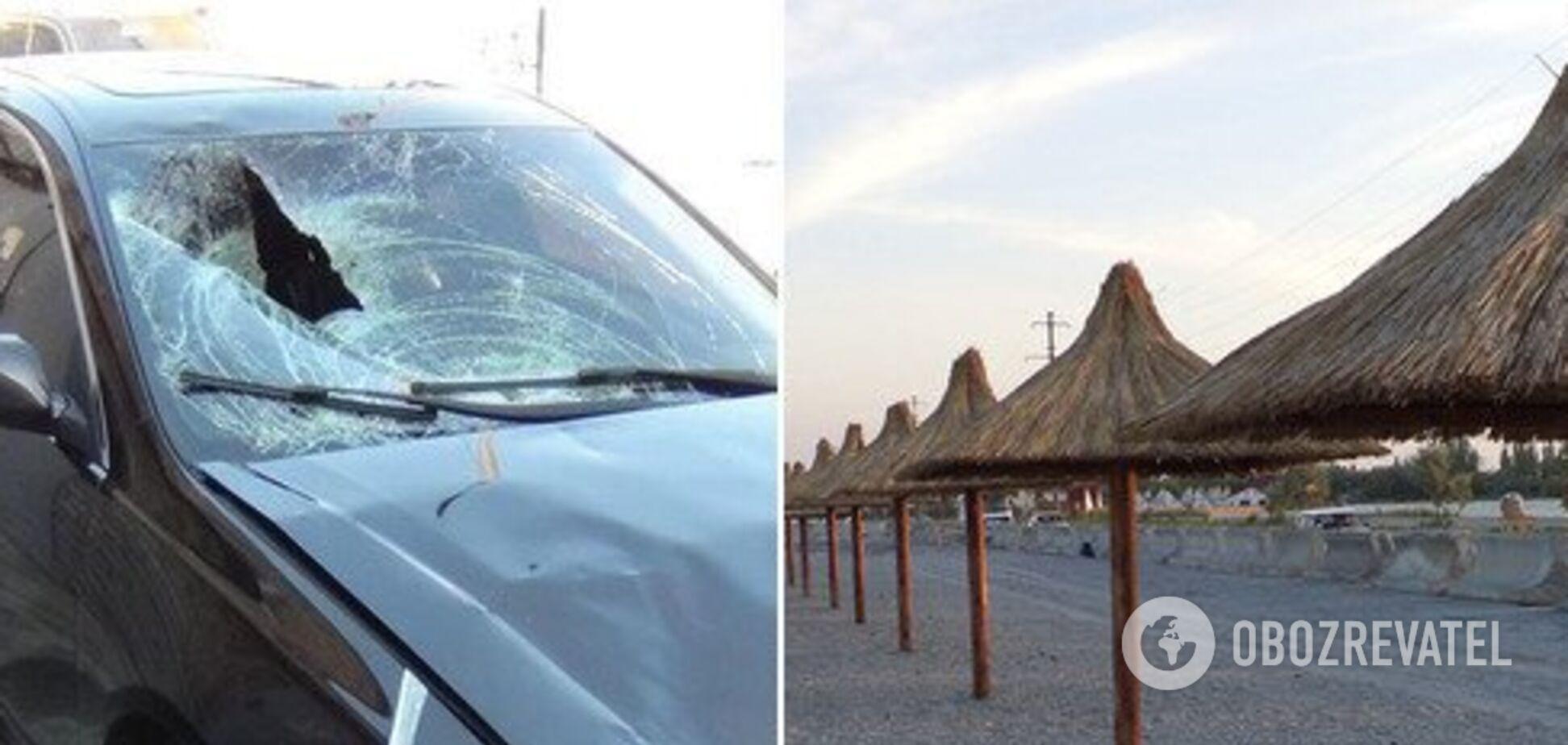 Відлетів на 40 метрів: житель Дніпра влаштував ДТП на популярному курорті